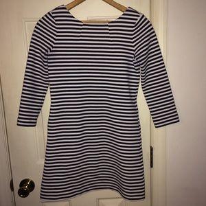 Lilly Pulitzer girls XL black white stripe dress